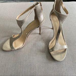 Vince Camuto Metallic High Heel Sandals